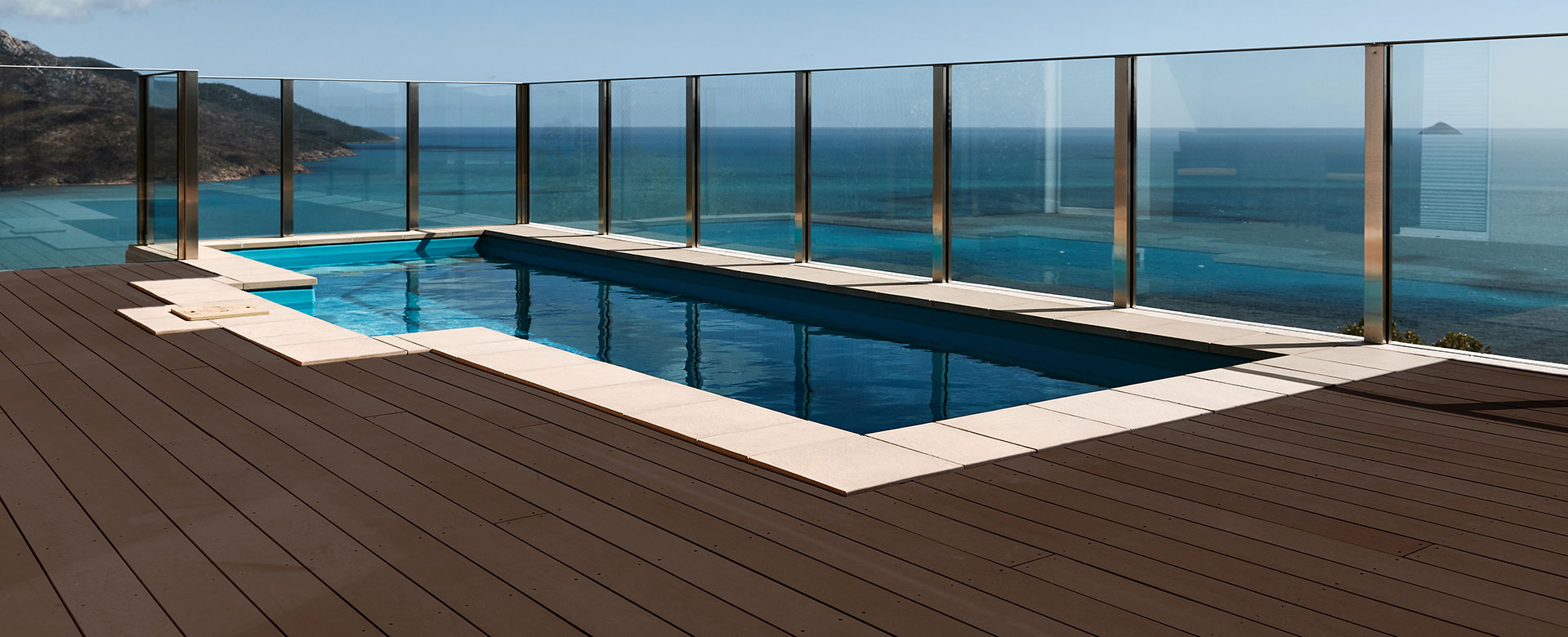 Decking for the 21st century. Beautiful materials, without the upkeep.